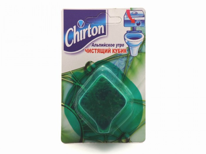 Chirton Чистящий кубик для унитаза Альпийское Утро