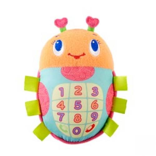 Мягкие игрушки Bright Starts Мобильный телефон Божья коровка