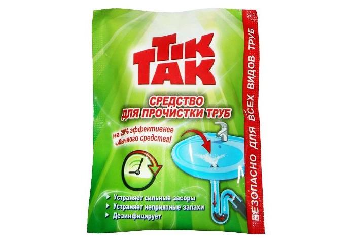 Chirton Средство для прочистки труб Tik Tak 90 г