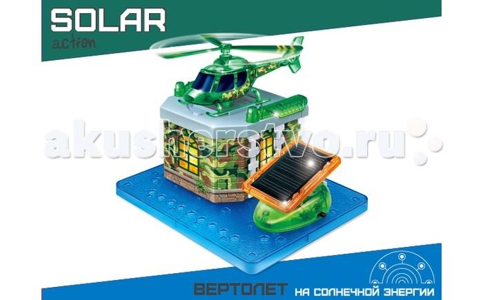 Amazing Научный опыт Вертолет на солнечной энергииНаучный опыт Вертолет на солнечной энергииAmazing Научный опыт Вертолет на солнечной энергии  Наверное, в каждом доме, где растет будущий мужчина, есть множество машин. А вот такая игрушка просто супер находка для вашего малыша. Игровой набор Вертолет работает на солнечной энергии, со световыми эффектами. Сделайте приятное для своего крохи, ведь этот замечательный центр создан специально для юных любителей, которым нравится изучать и проводить опыты самостоятельно. Для работы набора необходимы батарейки.   В набор входят:  1 бумажный лист для создания сгибающихся деталей 1 лист с наклейками 1 солнечная панель 1 пластиковая платформа 1 платформа для вертолета 1 держатель 13 пластиковых деталей инструкция.<br>