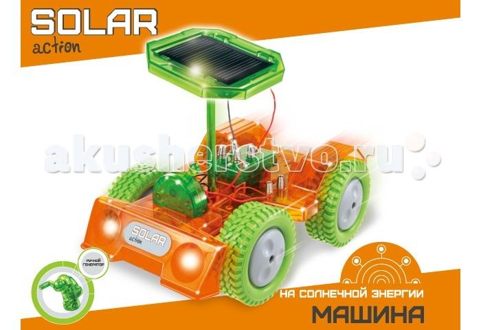 Amazing Научный опыт Машина на солнечной энергииНаучный опыт Машина на солнечной энергииAmazing Научный опыт Машина на солнечной энергии  Детям интересно, как устроено все вокруг. Научный набор Машина создан специально для юных исследователей, которым нравится изучать и проводить опыты самостоятельно. Используя данную экологичную коллекцию дети узнают, как получить энергию из природных ресурсов. Употребление возобновляемой энергии для сохранения ресурсов и сокращения загрязнения также было уникально использовано в этой серии. Дети немедленно начнут думать, как защитить, улучшить и сохранить мир, в котором они живут. Взаимодействуя с экологичной солнечной коллекцией «Solar Action», дети приобретут основные знания и навыки получения энергии от солнца. Дети будут удивлены тем, что использование и управление каждым солнечным научным набором зависит от солнечной энергии. Опыты позволяют легко получить знания об окружающей среде. Ребёнку предстоит интересная задача - создать свою собственную Машину, используя детали входящие комплект, руководствуясь подробной инструкцией. Соедините солнечную машину с солнечной электростанцией, установите разъём в «розетку», поверните выключатель в положение вкл., поместите солнечную машину под солнечный свет.<br>