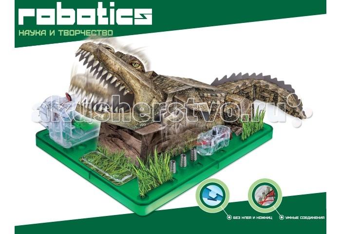 Amazing Научный опыт Крокодил на батарейкахНаучный опыт Крокодил на батарейкахAmazing Научный опыт Крокодил на батарейках  Это весёлая комбинация науки и искусства в одном удивительном наборе Собери детали из плоской ровной бумаги в реалистичные трёхмерные фигуры Воспользуйтесь необычным способом соединения бумаги, для которого не требуется клея или клейкой ленты А затем установите электрическую схему, чтобы активировать бумажный механизм и увидеть ваш шедевр в движении Работает от 2-х АА батареек (в комплект не входят).<br>