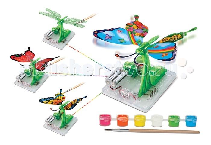 Amazing Научный опыт Насекомое с красками на батарейкахНаучный опыт Насекомое с красками на батарейкахAmazing Научный опыт Насекомое с красками на батарейках  Научный опыт Насекомое с красками, на батарейках - отличный вариант набора для юного исследователя. При помощи этого набора для опыта ребенок может собрать модель летающего насекомого, работающую от батарей. В конструировании используются пластиковые и бумажные элементы, пластиковое основание, электромеханические детали и набор контактных проводов с выключателем. Сборка модели не требует применения ножниц и клея! Научный опыт Насекомое с красками, на батарейках - это получение большого опыта пространственного 3D-мышления, развитие воображения и возможность выражать собственные творческие способности с использованием научных разработок.   В наборе:  конструктор краски 6 цветов кисточка инструкция Работает от 2 батареек АА (в наборе нет).  Для детей от 8 лет.<br>