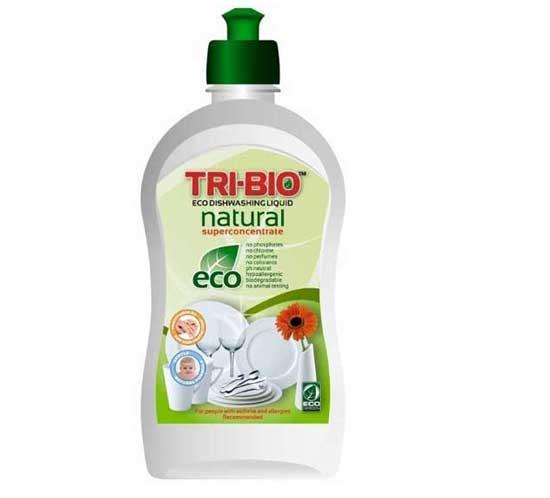Моющие средства Tri-Bio Натуральная Эко-жидкость для мытья посуды 420 мл