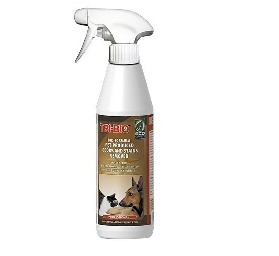 Моющие средства Tri-Bio Биосредство от запахов и пятен от домашних животных 420 мл