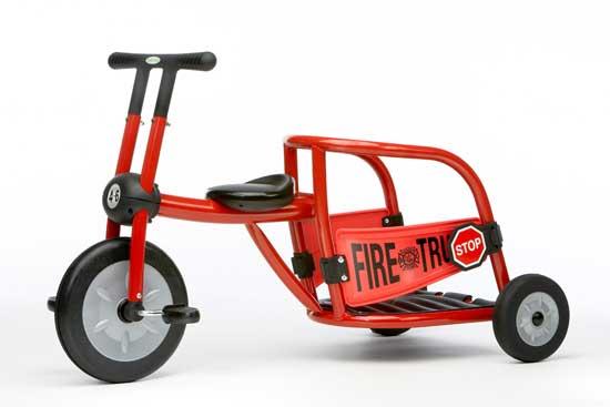 Трехколесные велосипеды Italtrike Fire Truck Dynami