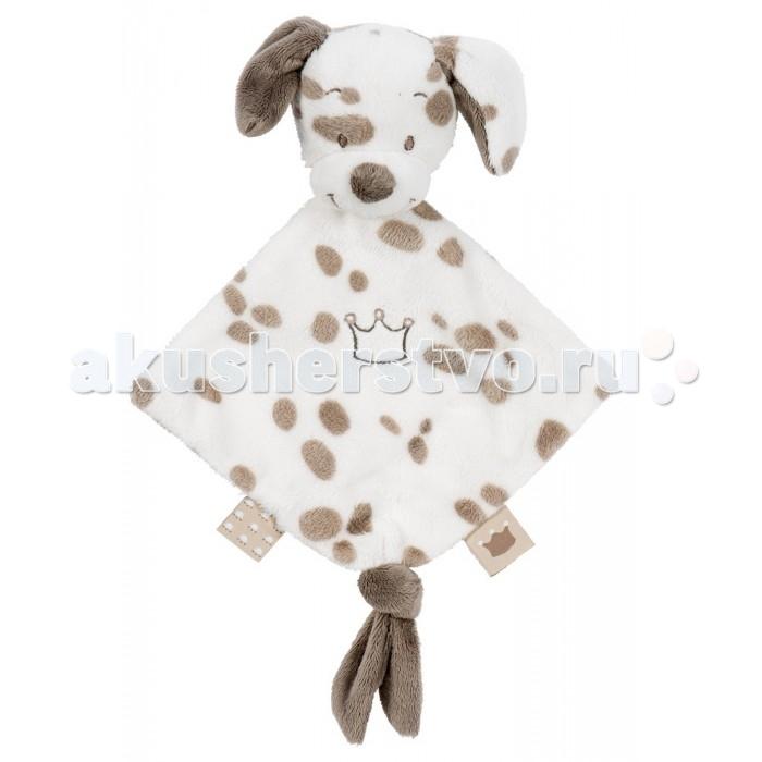 Nattou Doudou малая Max, Noa &amp; Tom СобачкаDoudou малая Max, Noa &amp; Tom СобачкаИгрушка мягкая Doudou Max, Noa & Tom Мишка  Основные характеристики:  - мягкая игрушка для малышей;  - очень нежный и приятный на ощупь материал;  - идеально подходит для новорождённых, станет постоянным другом для малыша дома в кроватке или в коляске на прогулке;  - держатель для соски-пустышки;  - размер игрушки: 13х15 см;  - уход: стирка при температуре 30°С.<br>