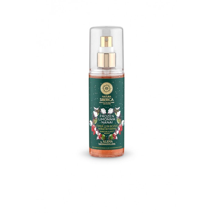 Natura Siberica Спрей для волос Живые витамины энергия и рост волос 125 мл