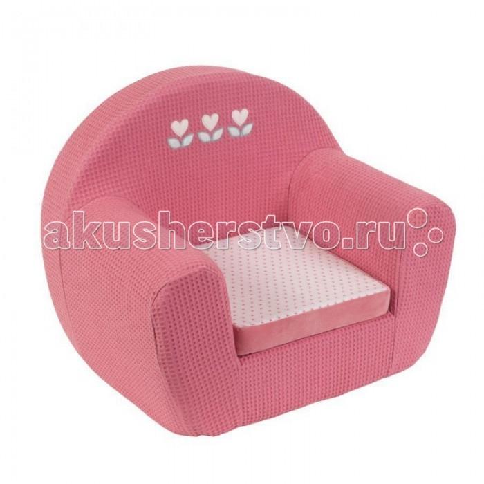 Мягкое кресло Nattou Charlotte & Rose Жираф и Слоник