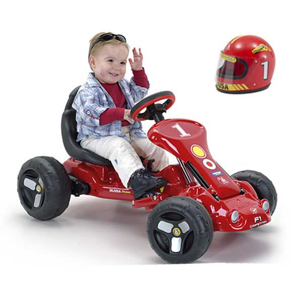 Электромобили Injusa GO-Kart Power Kart Red