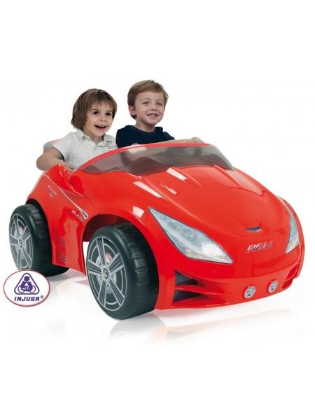 Электромобили Injusa Rev для двоих детей