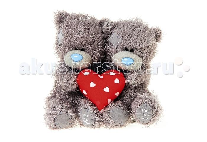 Мягкая игрушка Me to You Мишка Тедди с сердцем 10 см 2 шт.Мишка Тедди с сердцем 10 см 2 шт.Me to You Мишка Тедди с сердцем 10 см 2 шт.  Два Мишки Тедди с сердечком в лапах 10 см из коллекции Me to You - это восхитительные игрушки, которые можно подарить не только ребенку, но и своей второй половинке, которой, несомненно, понравятся эти очаровательные малыши, держащие в своих мягких лапках признание в любви от чистого сердца. Игрушка изготовлена из приятных на ощупь материалов и радует глаз качеством исполнения.  Размер игрушки: 10 см<br>