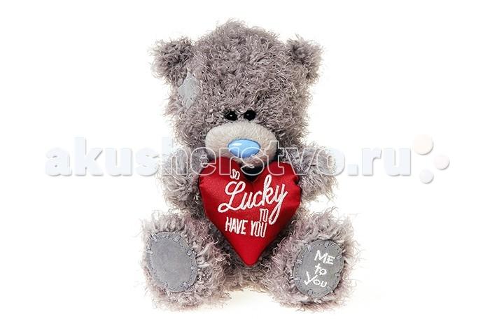 Мягкая игрушка Me to You Мишка Тедди с сердцем 18 смМишка Тедди с сердцем 18 смMe to You Мишка Тедди с сердцем 18 см  - это восхитительная игрушка, которую можно подарить не только ребенку, но и своей второй половинке, которой, несомненно, понравится этот очаровательный малыш, держащий в своих мягких лапках признание в любви от чистого сердца. Игрушка изготовлена из приятных на ощупь материалов и радует глаз качеством исполнения.  Размер игрушки: 18 см<br>