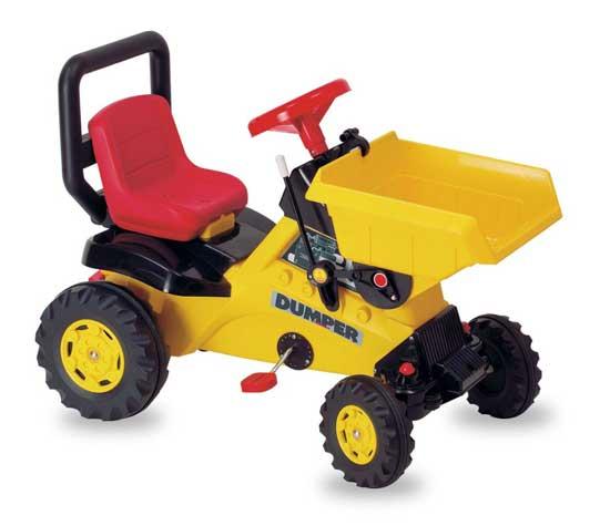 Педальные машины Coloma Трактор на педалях Dumper
