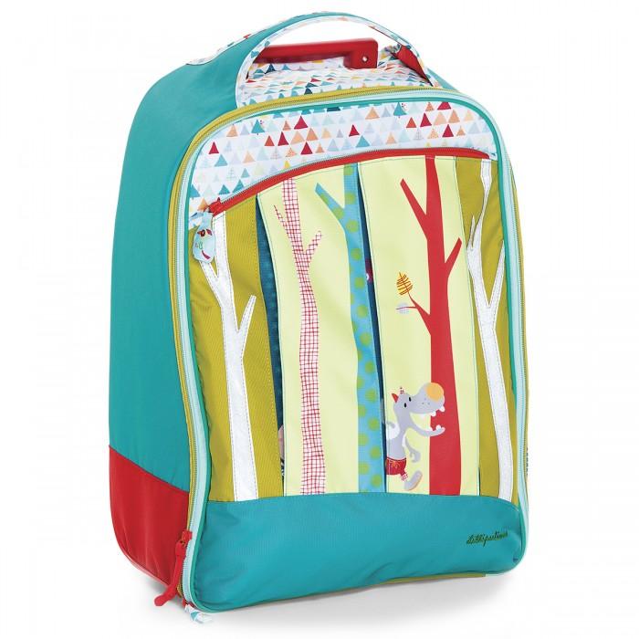 Lilliputiens Сказочный лес чемодан на колесиках