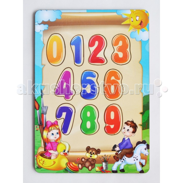 Деревянная игрушка Фабрика Мастер игрушек Рамка-вкладка Учим цифрыРамка-вкладка Учим цифрыРазвивающая игрушка «Учим цифры» познакомит ребенка с основами счета и цифрами, позволит развить мелкую моторику, координацию и ориентацию на плоскости; научит основам классификации.   Рамка-вкладка обогащает словарный запас ребенка, способствует целостному восприятию, расширяет представление ребенка об окружающем мире и развивает любознательность, учит считать и сопоставлять цифры.   Произносите вслух названия цифр на вкладышах – это позволит ребенку запомнить их названия и написание.<br>