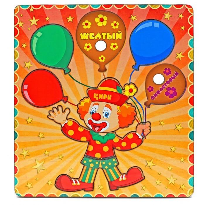 Деревянная игрушка Фабрика Мастер игрушек Рамка-вкладка ШарикиРамка-вкладка ШарикиРазвивающая игрушка «Шарики» позволит развить мелкую моторику, координацию и ориентацию на плоскости; научит основам классификации, поможет разучить основные цвета.   Рамка-вкладка обогащает словарный запас ребенка, способствует целостному восприятию, расширяет представление ребенка об окружающем мире и развивает любознательность.  Комплект: 1 рамка, 8 вкладышей. Из чего сделана игрушка (состав): дерево. Размер игрушки: 20 х 22 х 0.8 см. Размер: 20 х 22 х 0.8 см.<br>