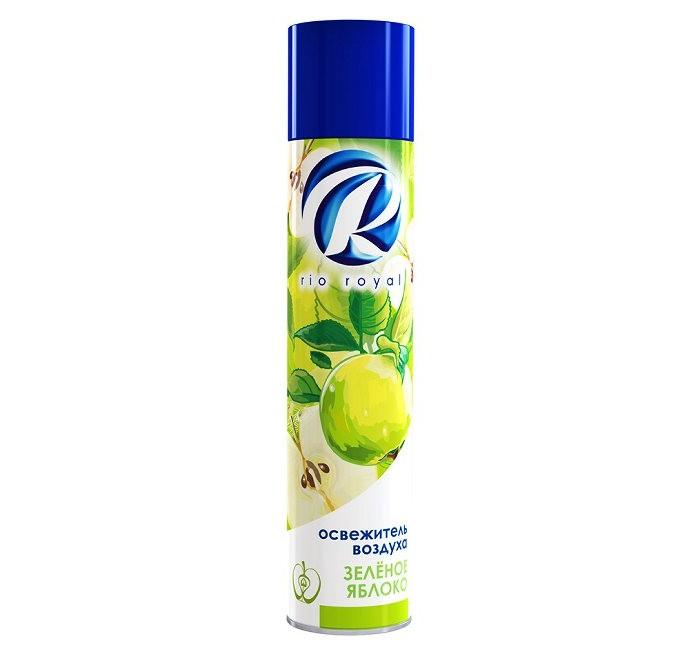 Chirton Освежитель воздуха Rio Зеленое яблоко 300 млОсвежитель воздуха Rio Зеленое яблоко 300 млОсвежитель воздуха Chirton Rio Зеленое яблоко 300 мл придаст вещам свежий аромат.   Предназначены для устранения неприятных запахов в различных помещениях.  Обладают длительным действием. Надолго наполняют Ваш дом благоухающим ароматом.<br>