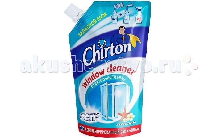 Chirton Концентрированное средство для мытья стёкол Морская Свежесть 250 мл