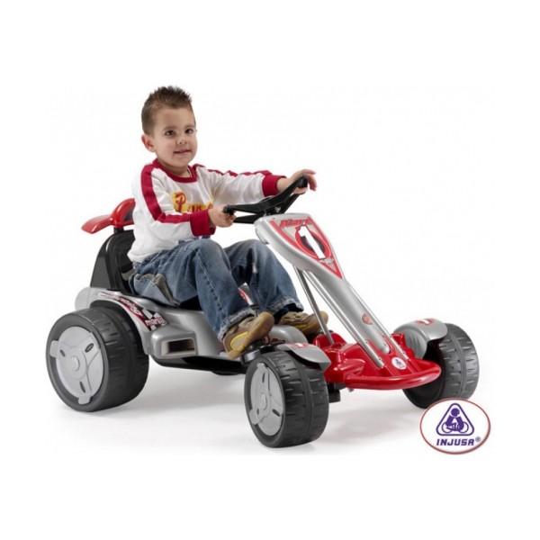 Электромобиль Injusa GO-Kart BIG Wheels