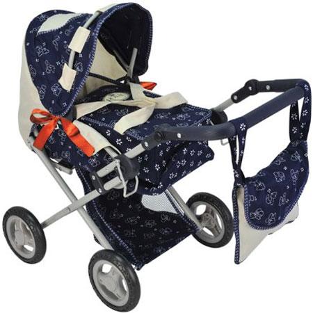 Игрушечные коляски Rich Toys Royal с сумкой и переноской