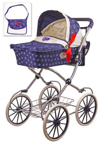 Игрушечные коляски Rich Toys Royal со съемной сумкой