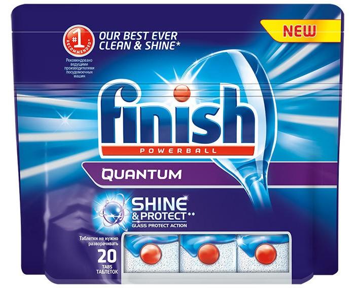 Calgonit finish Quantum Таблетки для посудомоечных машин 20 шт.