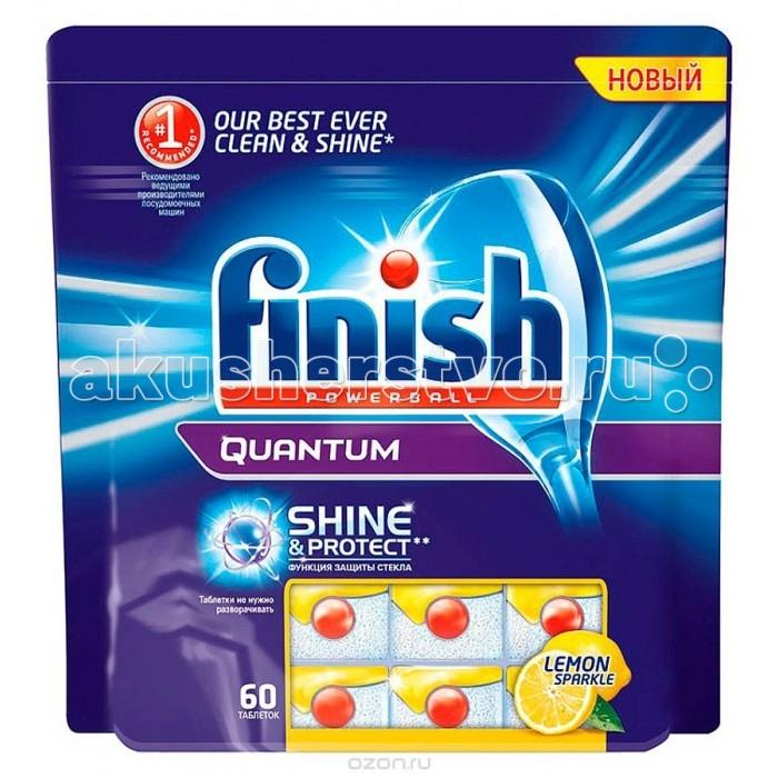 Calgon Calgonit finish Quantum Лимон Таблетки для посудомоечных машин 60 шт. Calgonit finish Quantum Лимон Таблетки для посудомоечных машин 60 шт. 8170795