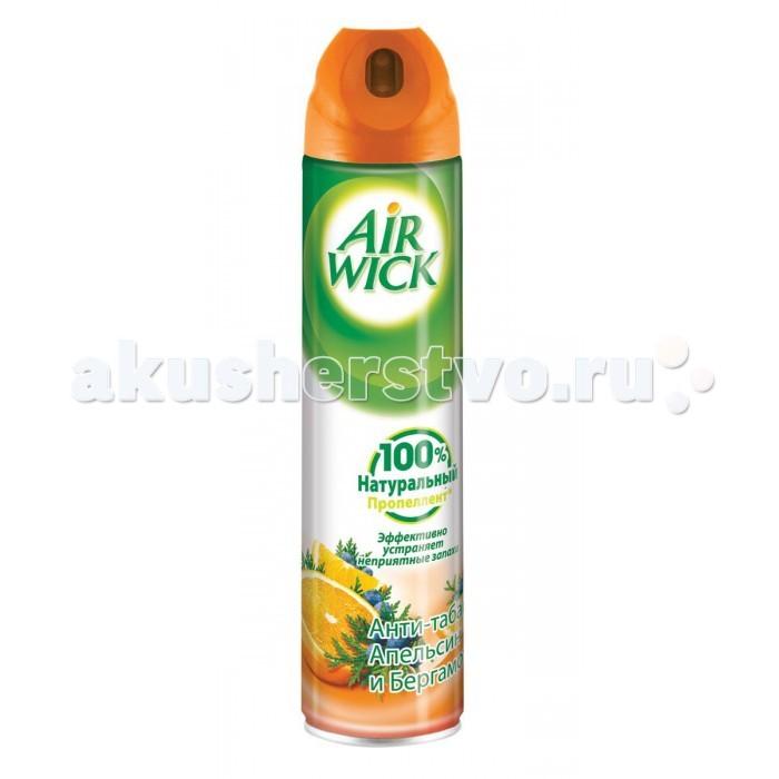 Air Wick Освежитель воздуха Анти-табак Апельсин и бергамот 240 мл