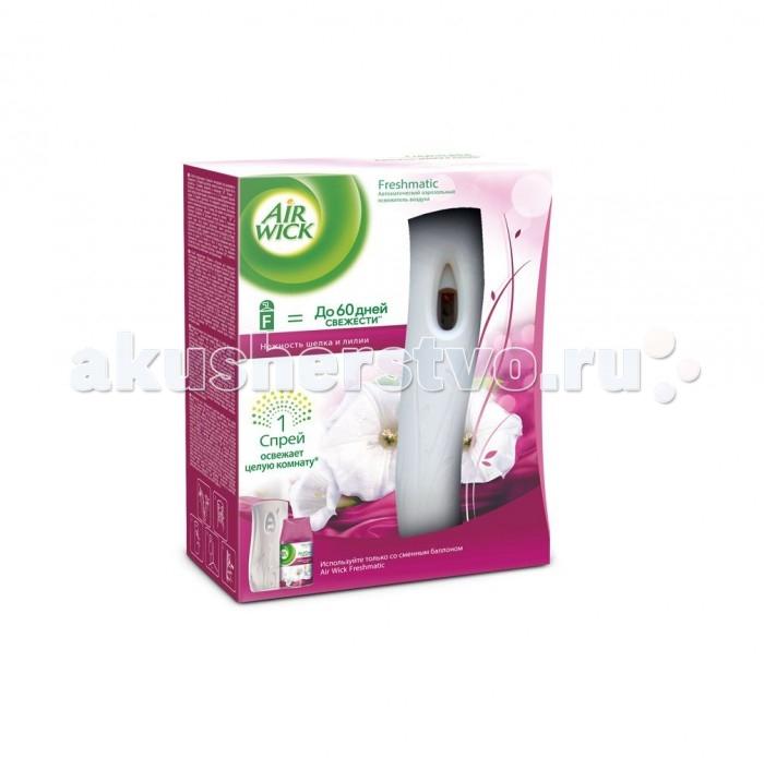 Air Wick Автоматический освежитель воздуха Нежность шелка и лилии 250 мл