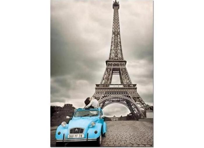 Educa Пазл Эйфелева башня Париж 500 элементовПазл Эйфелева башня Париж 500 элементовEduca Пазл Эйфелева башня Париж 500 элементов 14845  Романтичный пазл премиум-класса, состоящий из 500 элементов, с изображением Эйфелевой башни, на фоне которой припаркован автомобиль с двумя влюбленными.  Размер собранного пазла: 48 х 34 см.<br>