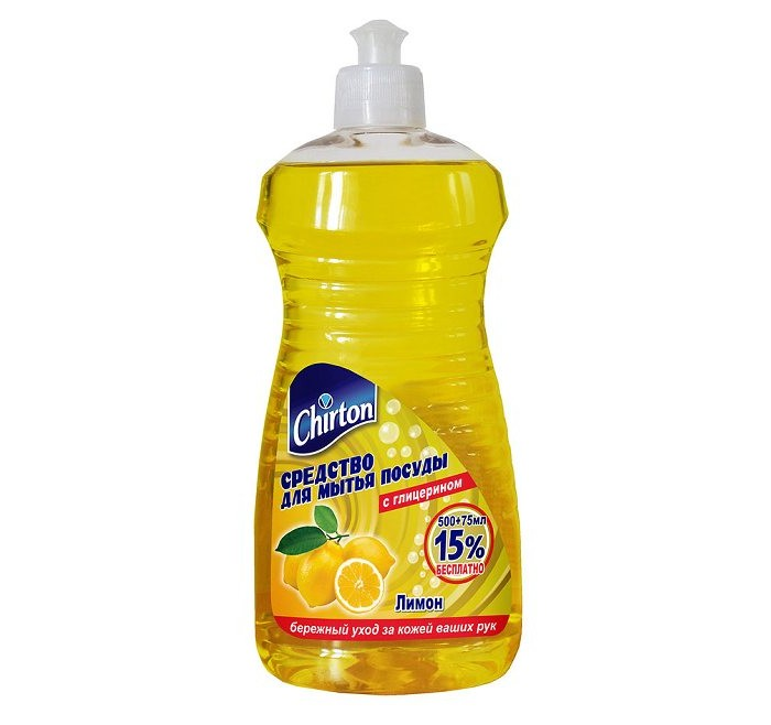 Chirton Средство для мытья посуды Лимон