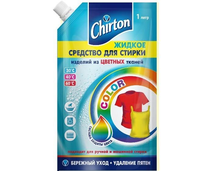 Chirton Жидкое средство для стирки Color 1 л