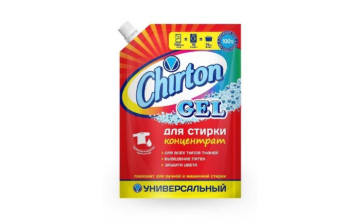 Chirton Гель для стирки Универсальный 750 мл