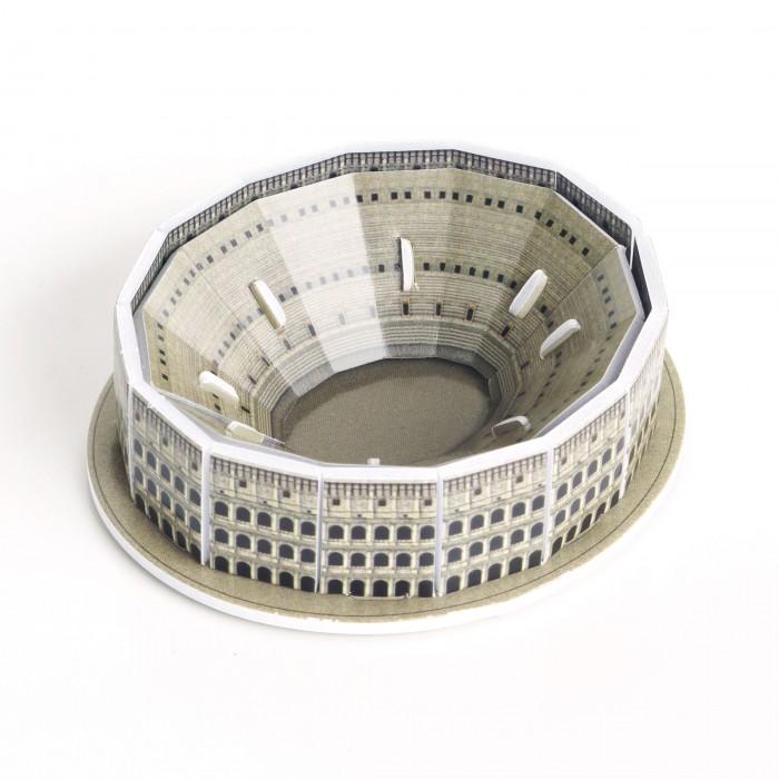 Конструктор IQ 3D пазл Колизей3D пазл КолизейIQ Игрушка 3D пазл Колизей IQMA002  Колизей является одним из наиболее известных сооружений древности, уцелевших до нашего времени. Этот монументальный амфитеатр, построенный в Риме в 80 году н. э., мог принять более 50 тысяч человек.  Оригинальные 3D пазлы из серии Шедевры мировой архитектуры помогут детям и взрослым поближе познакомиться с самыми знаменитыми зданиями, находящимися в различных уголках земного шара. Миниатюрный пазл состоит из небольшого количества элементов, поэтому собрать его сможет даже маленький ребенок. Для сборки не понадобятся ножницы или клей.  В наборе 12 деталей. Размер собранного пазла: 7,2 x 6,3 x 2,3 см<br>