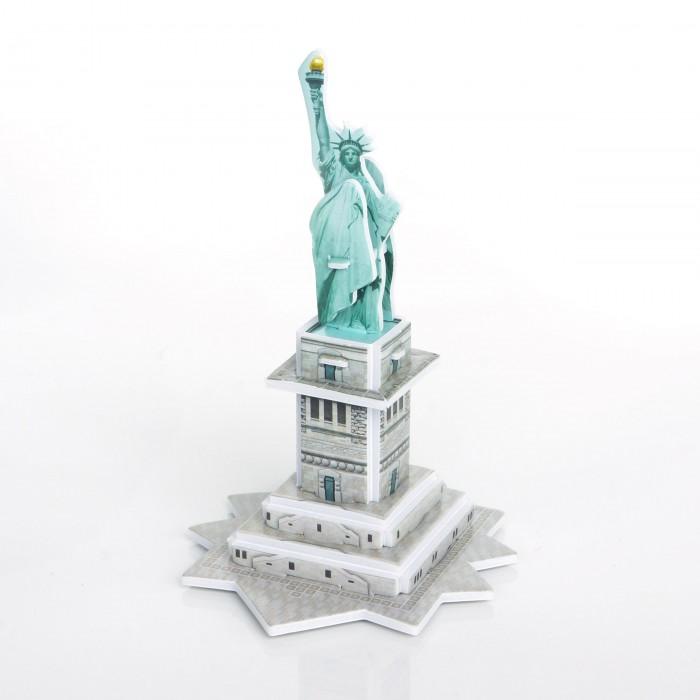 Конструктор IQ 3D пазл Статуя Свободы3D пазл Статуя СвободыIQ Игрушка 3D пазл Статуя Свободы IQMA006  Пазл IQ 3D PUZZLE «Статуя Свободы» из пенокартона будет замечательным подарком для каждого ребенка!  Серия 3D пазлов «Шедевры мировой архитектуры» позволит малышам познакомиться с самыми интересными сооружениями планеты. Статуя Свободы - одна из самых знаменитых скульптур в США и в мире, подарок французских граждан к столетию американской революции. Установлена в Нью-Йорке в 1886 году. Высота от земли до верхушки факела - 93 метра.  Уровень сложности: 1. Количество деталей: 14. Размер собранного пазла: 6,4х6,9х10,4 см.<br>