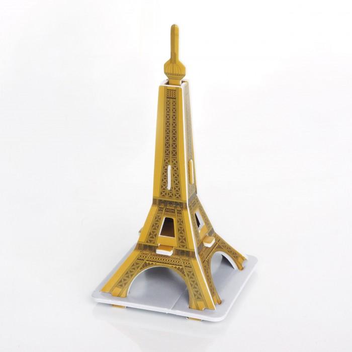 Конструктор IQ 3D пазл Эйфелева Башня3D пазл Эйфелева БашняIQ Игрушка 3D пазл Эйфелева Башня IQMA007  Пазл IQ 3D PUZZLE «Эйфелева Башня» из пенокартона будет замечательным подарком для каждого ребенка!  Серия 3D пазлов «Шедевры мировой архитектуры» позволит малышам познакомиться с самыми интересными сооружениями планеты. Эйфелева башня - символ Парижа и всей Франции высотой 324 метра, задумывался как временное сооружение, служившее аркой для входа на Всемирную выставку 1889 года. Сейчас это самое популярное место в мире среди туристов.  Уровень сложности: 1. Количество деталей: 8. Размер собранного пазла: 5,4х5,4х10,9 см.<br>