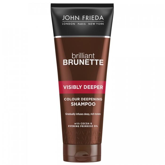 John Frieda Brilliant Brunette ������� ��� �������� ����������� ������� ������ ����� Visibly Deeper 250 ��