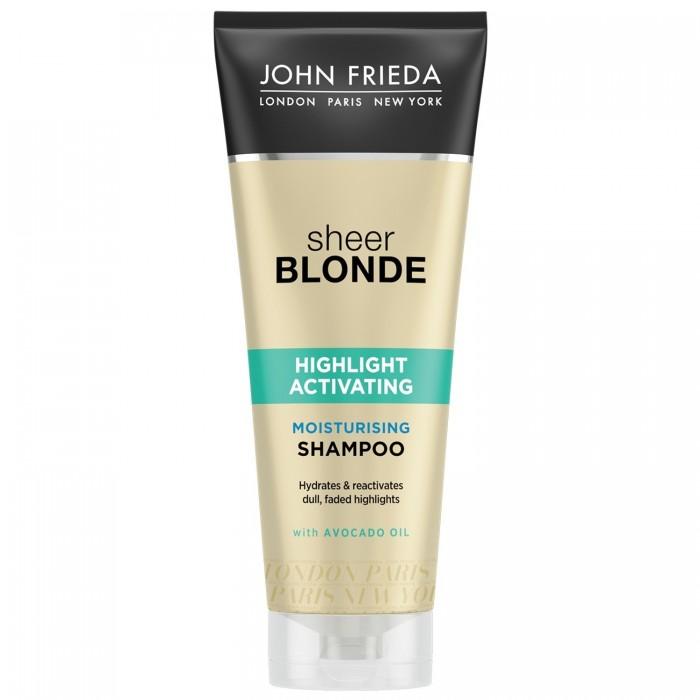 John Frieda Sheer Blonde Шампунь увлажняющий активирующий для светлых волос 250 мл