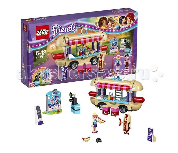 Конструктор Lego Friends 41129 Лего Подружки Парк развлечений: фургон с хот-догами