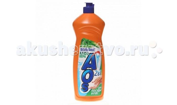 AOS Средство для мытья посуды Бальзам Алоэ вера 1 л