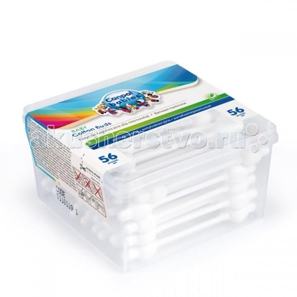 Canpol Гигиенические палочки в коробке 56 шт. 3/111