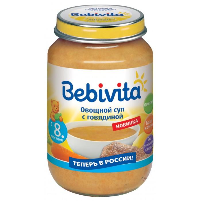 Bebivita Овощной суп с говядиной с 8 мес. 190 г