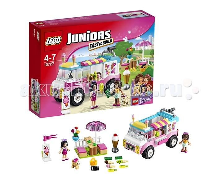 Конструктор Lego Juniors 10727 Лего Джуниорс Грузовик с мороженым Эммы