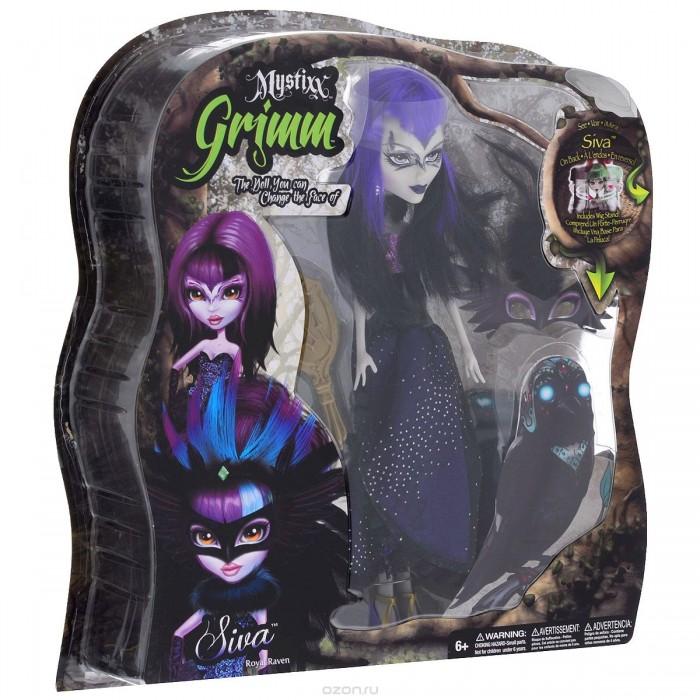 Mystixx Кукла Grimm СиваКукла Grimm СиваКукла мистикс гримм Сива   Кукла Mystixx Grimm Siva меняет выражение своего лица, моментально перевоплощаясь из девушки в злобного монстра. Кукла одета в длинное тёмное платье, а на ногах - туфельки в тон костюму.<br>