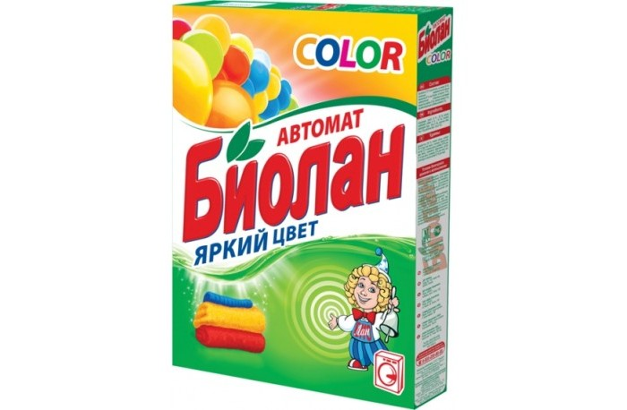Biolane Стиральный порошок Color Автомат 350 г