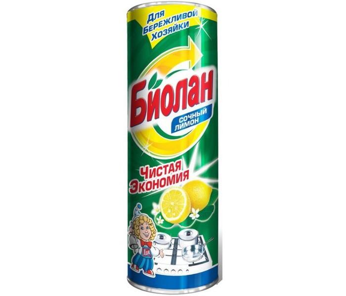 Biolane Чистящий порошок Сочный лимон 400 г