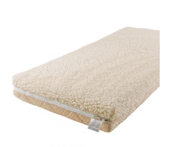 Матрас Babysleep класса Люкс BioLatex Bamboo 140x70класса Люкс BioLatex Bamboo 140x70Экологически чистый матрас класса Люкс BioLatex Bamboo 140x70 для новорожденного двусторонней жесткости. Не имеет аналогов на российском рынке, отличается полным отсутствием в производстве клеевых материалов.  Жесткая сторона - 100% натуральный материал, кокосовая плита производства концерна ENKEV (Голландия), с полной латексной пропиткой, прочно скрепляющей кокосовые волокна, увеличивающей долговечность и придающей пружинящие свойства. Обладает естественной вентиляцией, гигиеничностью и антиаллергенностью. Обеспечивает матрасу жесткость и долгий срок эксплуатации.  Основа матраса: блок «Naturalform», производства итальянской фабрики   «GommaGomma: материал, имеющий специфическую пористую внутреннюю структуру, обладающий отличной воздухопроводимостью и гигиеничностью, отсутствием избыточной влажности и вредных микроорганизмов. Производится на основе пенополиуретана высокой плотности путем вспенивания и очистки водой.  Мягкая сторона - латексная плита производства итальянской фабрики «Ecolatex». Эластичная, мягкая и гипоаллергенная, латексная пена оптимально адаптируется к форме тела и головы человека, производится из млечного сока бразильской гевеи.   Это идеальный материал для здорового и естественного сна, благодаря присутствию в структуре воздушных микро-сот, сообщающихся между собой и обеспечивающих отличную внутреннюю вентиляцию, гигиеничность и поддержание стабильного температурного фона.  Уникальные двойные чехлы являются отличительной особенностью матрасов «BabySleep». Внутренний чехол из 100 % хлопка, фиксирующий компоненты матраса, увеличивает срок эксплуатации, позволяет безопасно снимать и надевать внешний чехол, без малейшего риска деформации или нарушения состава матраса, был специально разработан для компании «BabySleep».  Внешний чехол имеет трехстороннюю молнию, позволяющую максимально быстро и легко переворачивать чехол на любую сторону жесткости. Отличается повыше