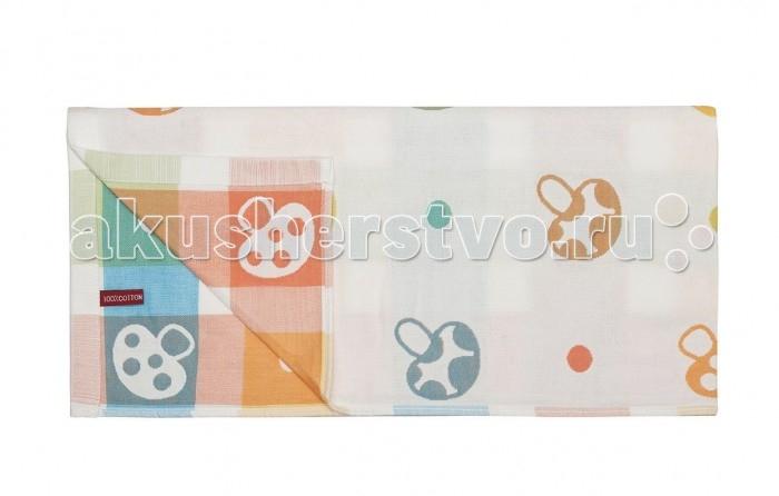 Dream Time Полотенце тканевое Грибочки 110х115 см