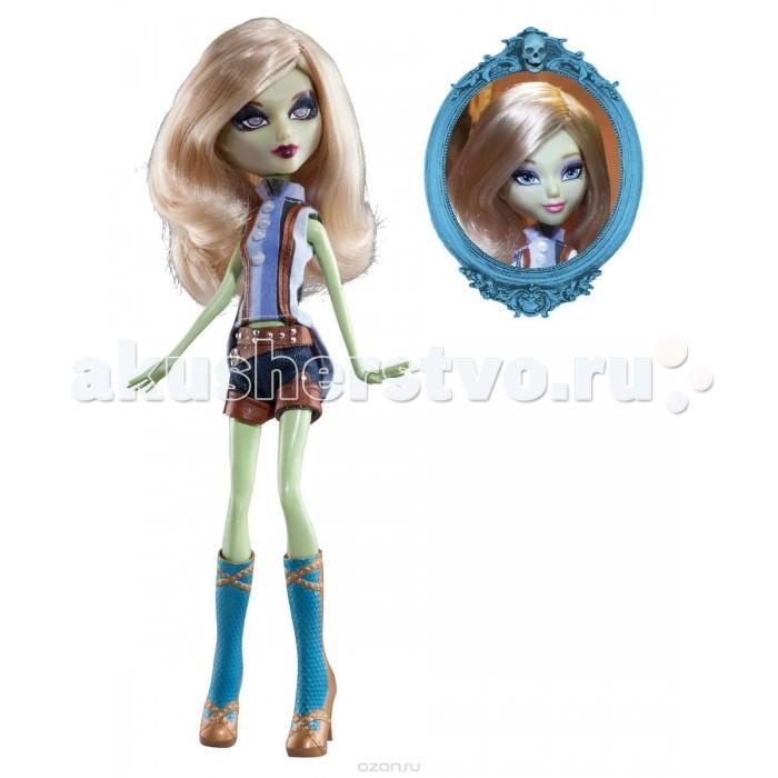 Mystixx Кукла Zombie АзраКукла Zombie АзраКукла мистикс зомби Азра - необычная двуликая кукла из серии Вампиры. Днем она обычная девочка, а ночью очаровательный вампир. Для того чтобы сменить облик, достаточно просто повернуть голову куклы в области шеи, и второе лицо скроется за длинными волосами.   Кукла Мистикс зомби Азра - это стильная девочка. У куклы гибкое резиновое тело с проволочным каркасом внутри, поэтому она может принимать различные позы.<br>